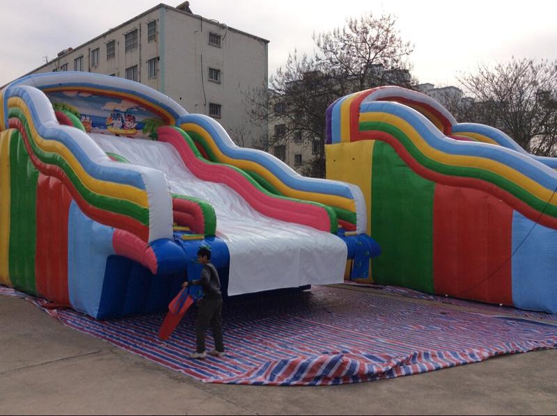 6.彩虹滑梯10×6.5×8m